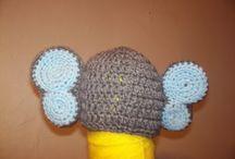 Crocheted Elephants  / I love Crochet, and I love elephants, therefore.........