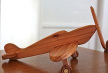 Avioes de madeira