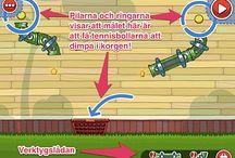 iPad i klassen - spel / Spel för undervisningsbruk