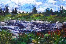 Lisa Moore : Artwork / Artwork by Newfoundland artist and writer, Lisa Moore.