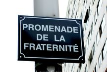 [MY PICS] STREET SIGNS. (By Me ©LauryRow.) / Divers Panneaux de Rues,boulevards, que j'ai prise en photos... (By Me ©LauryRow.)