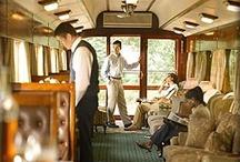 Safari in style: By train