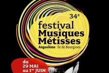 Affiches de festivals de musiques du monde / World music festival posters