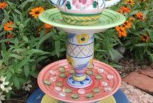 Garden decor / by Diane Handley