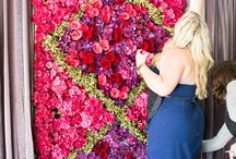Workshop Floral Wall and Wedding Styling Purples and rich tones  #2dayswithintrigue