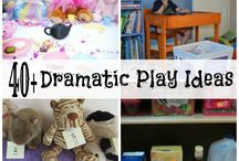 Dress up  & Pretend / Dress up- Imaginative play-Pretend play , dramatic play and  small world ideas. / by Vivi ©