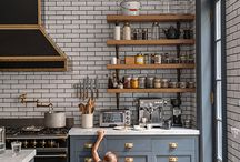 Navy kitchens