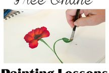 Acrylic Painting - Free lessons