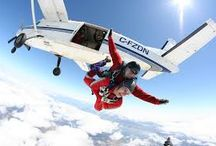 skydiving and base jumping