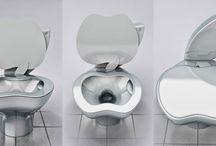 WC originali! / Certo, per quel che riguarda il design c'è gente che si impegna sul serio... ma tenerli puliti poi... è tutta un'altra storia!