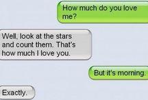 Hilarious messages