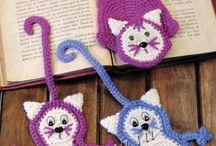 crochê - marcadores de livros