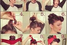 Pinup hair & how to do it.