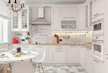 Дом: кухня-гостиная