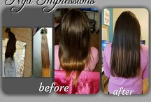 Before and After Hair & Hair Extensions