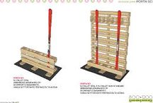 Pallets in riciclo