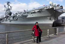 Intrepid Museum Jan 2014 / #Visiting the #Intrepid #Museum #Intrepidseaair&spacemuseum with #family, Getting to know about the #amazing #air #planes that helped #UnitedStatesofAmreica #USA To win the #war against the #Nazis! WOW!!!!!!!