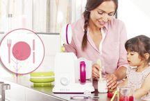Cocina para tú Bebé / La alimentacion de tu bebé es un factos muy importante para el crecimiento de tú hijo.
