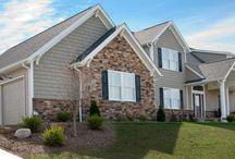 Country home facades