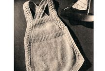 Knit vintage baby any