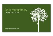 Business Cards for Landscaping, Lawn Care, Landscapers / Customizable business cards for landscaping, lawn care, garden care