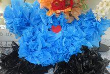 plastic tasjes/zakjes recyclen / recycle kunst