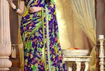 Saree - Indian traditional wear / The general idea is that the girl goes shopping on Saree - Indian traditional wear