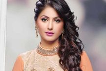 Hina Khan / Hina Khan (born 2 October 1987) is an Indian television actress. She played the role of Akshara in Yeh Rishta Kya Kehlata Hai. She was named 4 times in the Top 50 Sexiest Asian Women List by Eastern Eye. Khan is one of the highest earning television actress. She is currently a contestant on an Indian reality show Bigg Boss 11 that is being aired on Colors TV.