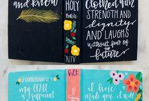Custom bible