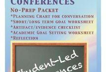 Education-Student led conferences