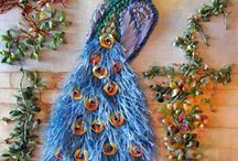 Embroidery, textile art