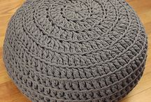 Crochet Poof