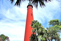 Ponce De Leon Inlet Lighthouse / The Ponce De Leon Inlet Lighthouse & Museum is located in Ponce Inlet, Florida. It's the tallest in the State of Florida and the tallest in the United States.  It stands 175 in height.