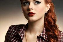 classic redhead