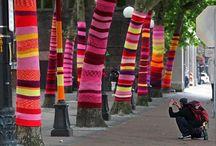 knitting graffiti