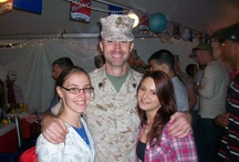 """True Hero's <3 / I am an Army granddaughter, an Air Force cousin and """"sister."""" I also have friends in the Military! <3 / by Melissa Dunn"""