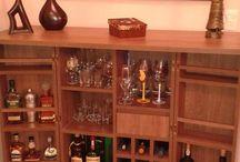 Bar / Bar em sala de estar
