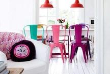 Kleurrijke meubels trudie