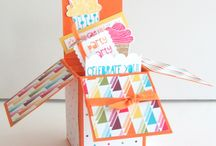 Cupcake Party Card Ideas / by Laurie Graham: Avon Rep/Stampin' Up! Demo