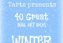 Crumpet Nail Tarts Presents - Winter / Crumpet Nail Tarts Presents 40 Great Nail Art Ideas #40gnai