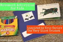 Bug Crafts and Activities / This board features our favorite kids crafts and activities that are all about BUGS!!