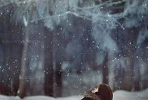 Зимние сцены