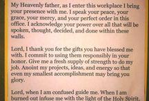 prayers for work