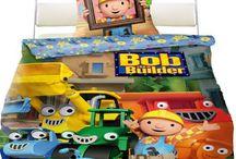Bob the builder bedding collection | Bob budowniczy pościel - kolekcja / Bob the Builder kids bedding and home textile collection | Kolekcja pościeli dla dzieci oraz ręczników z Bobem budowniczym.
