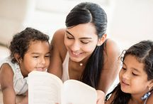 Reading Bedtime Stories to Children