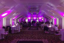 Up Lighting in the Grand Ballroom