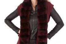 Look Femme : Gilet sans manche / Ajoutez une touche d'élégance à vos tenues en ajoutant un #gilet sans manche en fourrure. http://www.cesarenori.fr/185-blouson-et-gilet-fourrure