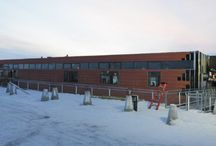 Cambridge Bay Hamlet Office Building / Featuring our first brrr...illiant building in Nunavut! | Architect: NWTAA and Pin/ Taylor Architects | Product: EQUITONE [tectiva] | #brilliantbuildings #facade #nunavut #extreme #cold