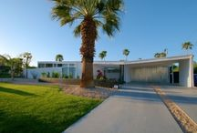 Lindsey Luxe / Built in 1959 and designed by Palmer and Krisel. This mid-century classic is located in the desirable and historic Racquet Club Estates. A Private Paradise! / by Vacation Palm Springs