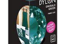 Dylon Emerald Green / Stoklarımıza yeni giren Dylon rengimiz!